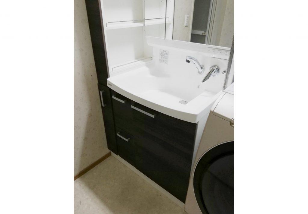 「クリナップ ファンシオ」で高級感溢れる洗面台になりました!