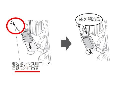 ネオレスト 手動レバータイプ 停電時洗浄方法5