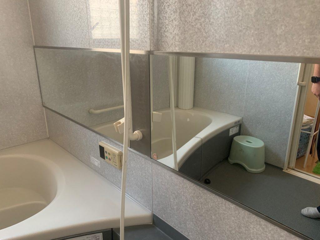 リフレッシュするなら浴室鏡も綺麗にお取替え!