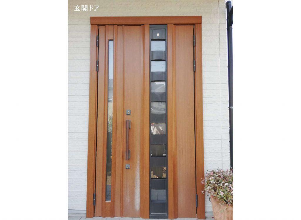 機能性もデザイン性も◎玄関ドア・コンロ・レンジフードのお取替え!
