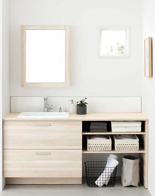 TOTO「ドレーナ」でお気に入りの洗面空間を作りませんか?