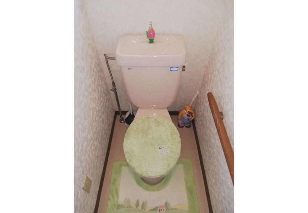 清掃性UP!トイレお取替え
